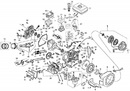 Каталог запчастей 168F (схема С)