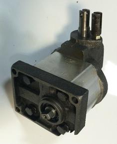 Гидравлический насос + распределитель minitraktor