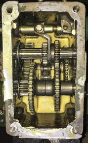 Схема коробки передач GN4, M900