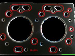 Прокладка головки блока TY295IT