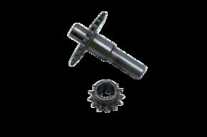Звездочки редуктора двигателя 168FB-L к-кт 2шт