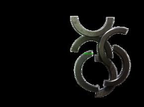 Полукольцо  стопорное передней ступицы FT244
