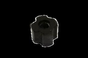 Втулка в резиновой оболочке в трубу