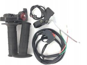 Ручка газа в сборе с переключателями для ATV и мото