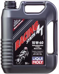 LiquiMoly RACING SYNTH 4T 10W-60 (синтетическое) 5л.
