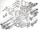 Каталог запчастей на редуктор мотоблока 8-12 л.с. коробка 6+2