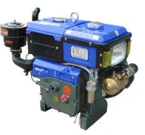 Двигатель для мотоблока Зубр R195NM 12л.с. эл. запуск