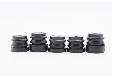 Амортизаторы (сайлентблоки) 5шт. для бензопилы 4500-5200
