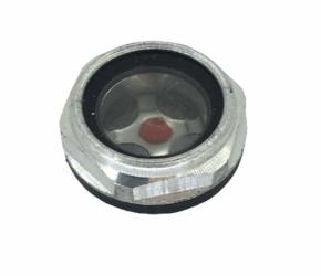 Показатель уровня масла металлический 20мм компрессора