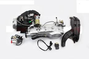 Двигатель скутерный в сборе 150куб длинный вариатор
