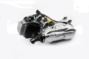 Двигатель для квадроцикла вариаторный с редуктором задней передачи в 150куб