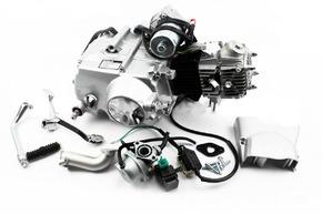 Двигатель мопедный в сборе 70куб Delta/ALPHA