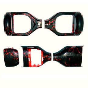 """Сменный корпус для гироборда JUST Step&Go 6,5"""" Fl Red"""
