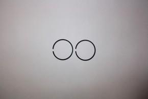 Кольцо поршневое для бензопилы Partner