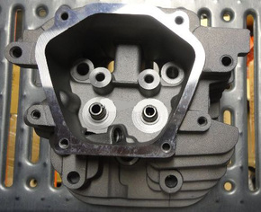 Головка цилиндра бензинового двигателя GX620