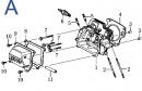 Каталог запчастей 168F (схема A)