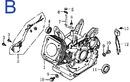 Схема двигателя GE-390B