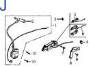 Схема двигателя GE-390J