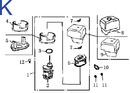 Схема двигателя GE-390K