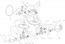 Схема Косилка роторная КР01 ременной привод