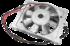 Вентилятор в сборе с генератором R175 R180
