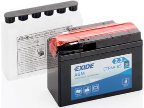 Аккумулятор EXIDE ETR4A-BS