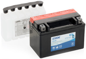 аккумулятор EXIDE ETX9-BS