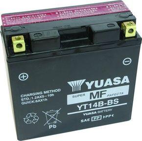 аккумулятор YUASA YT14B-BS 12А