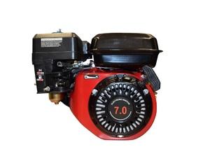 Бензиновый двигатель Зубр 170F-1 7л.с. вал 19мм (шпонка)