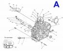 Схема двигателя - 178F А