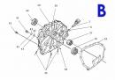Схема двигателя - 178F В