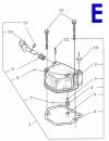 Схема двигателя - 178F Е