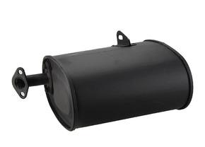 Глушитель  бензогенератора 1 - 4 кВт (овальный)