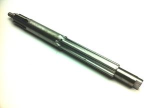 Вал первичный сцепление гидронасос минитрактора