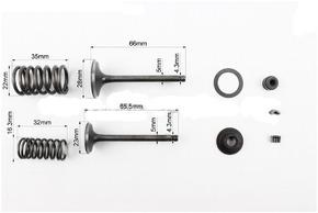Клапан впуск выпуск полный к-кт 150сс