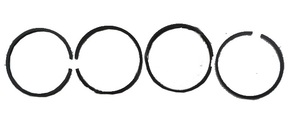 Кольца поршневые LL380