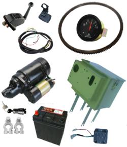 Комплект для установки электростартера R190 R195