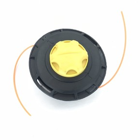 Косильна головка шпулька автоматическая с желтым фиксатором