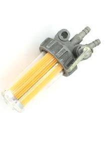 Кран топливный с вертикальными выводами и пластиковым стаканом R175 R180 R185 R190 R195