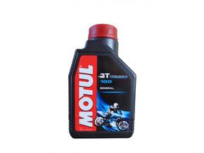 масло моторное MOTUL 100 MOTOMIX 2T 1L