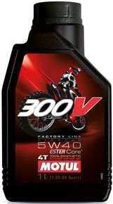 моторное масло MOTUL 300V 4T FACTORY LINE OFF ROAD 5W-40 1L