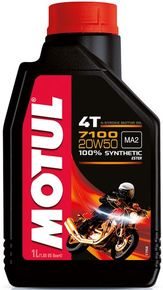 моторное масло Motul 7100 4T SAE 20W50 1L