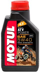 моторное масло Motul ATV Power 4T SAE 5W40 1L