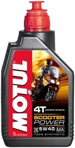 Моторное масло Motul Scooter Power 4T 5W-40 1L
