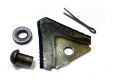Нож для роторной косилки (сегмент)