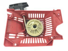 Ручной стартер красный на 2 зацепа 4500 5200