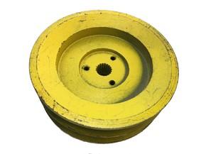Шкив 2 ручейный 128мм под вал 15мм (мелкий шлиц)