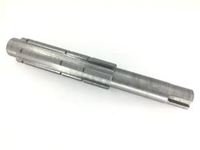 Вал переходного редуктора минитрактора Z-6 L-230mm