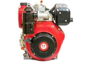 Двигатель WEIMA WM186FBE-Т  9л.с. дизель, шлиц, с электростартером