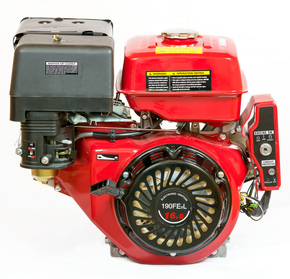 Двигатель WEIMA  WM190FE-L 16л.с., бензин, шпонка, электростартер, редуктор